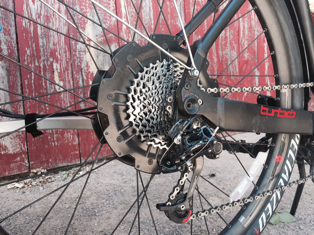 Specialized Turbo S 250-watt rear hub motor