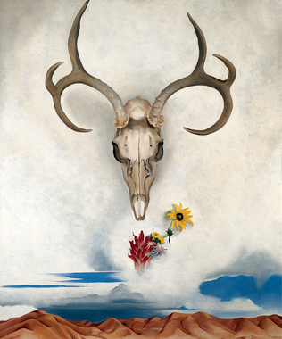"Georgia O'Keeffe, ""Summer Days"""