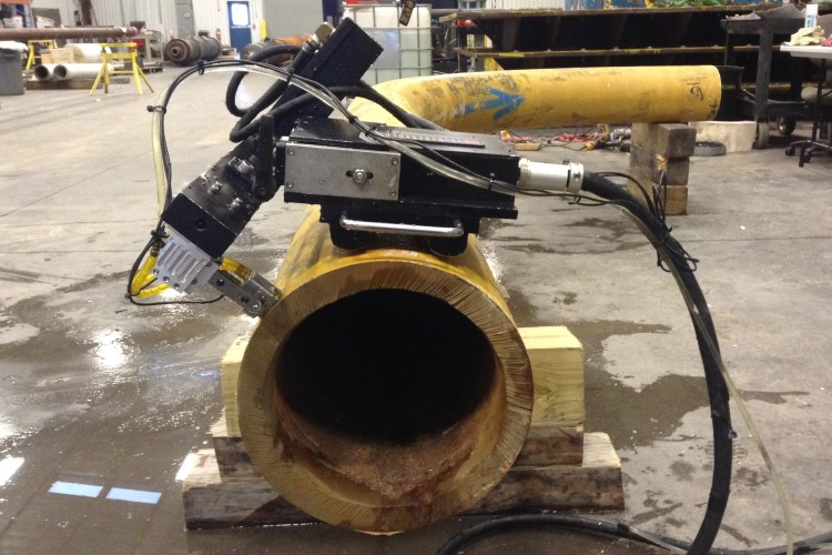 SubSea Flow Line Corrosion Mapping