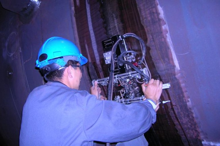 Heavy Wall Pressure Vessel Weld Inspection
