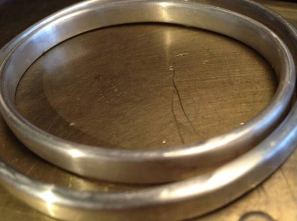 trial fit of two bangles