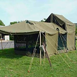 KITCHEN TENT (12u2032 X 18u2032) & KITCHEN TENT (12u2032 X 18u2032) u2014 U.S. Military Tents