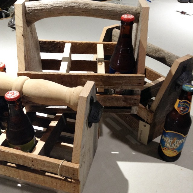 BEER CADDIES!!! Just in time for Spring :) by @beforeshock #madeinICT