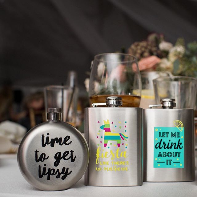 Aren't these the cutest bridal party gifts you ever did see? #weddingthings (photo credit @kristiodom)