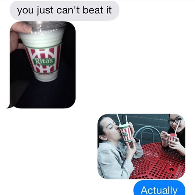 When everyone can't stop talking about Rita's because it's just THAT good🍦❤️ Shoutout to @isabelle.fe, w truly devoted fan #RitasIceUtah #JoinTheFun