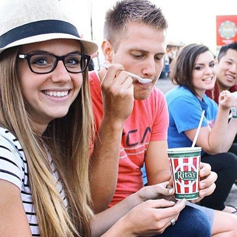 Weekend plans? Well Rita's is planning on you to come pay us a visit tonight at Fort Herriman Middle School! We'll be serving up happiness from 4:30 to 7:30! #FindTheTruck #RitasIceUtah #JoinTheFun
