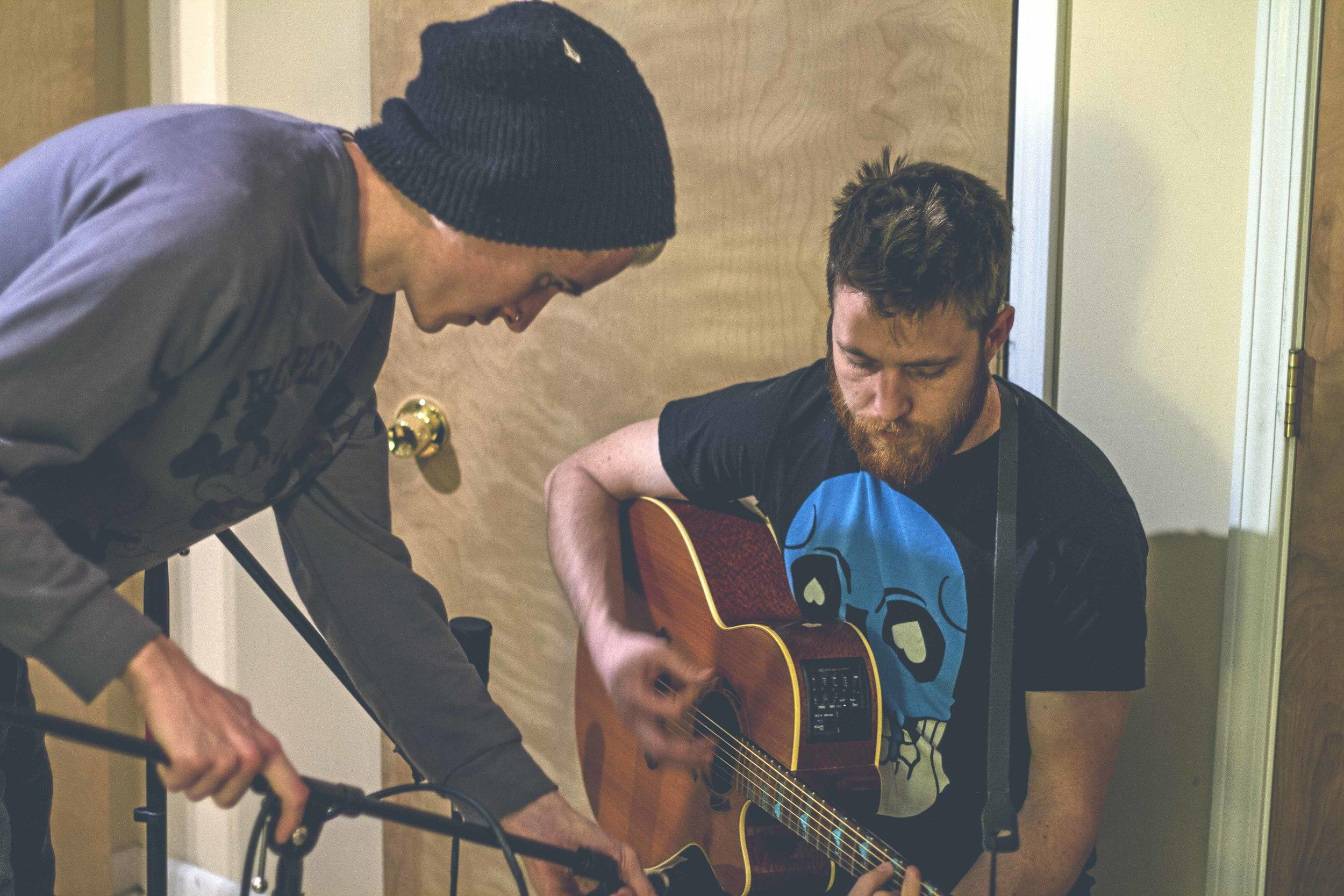 Aaron recording