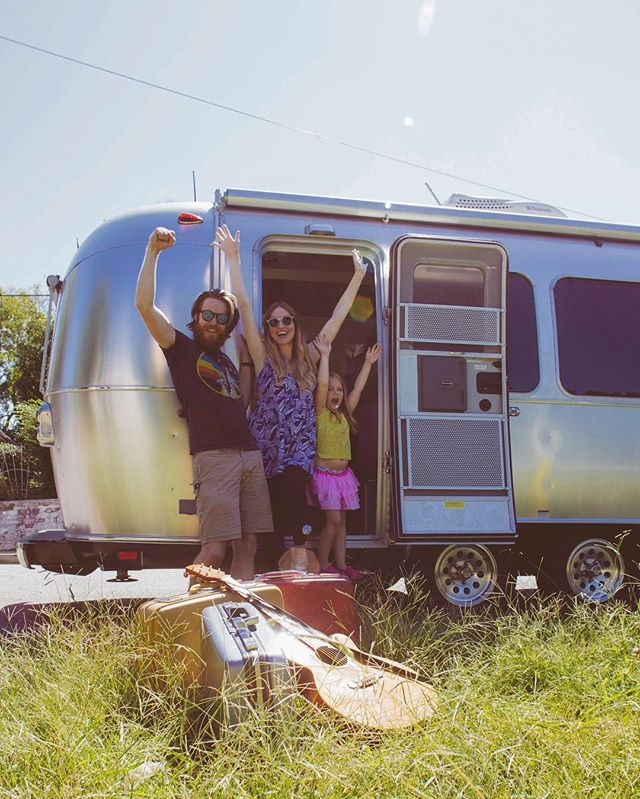 Us the day we left in September... the tour was everything we dreamed it would be and more!  Can't express enough gratitude for everyone who shared in this adventure with us, welcomed us into your homes and towns, and shared your world with us.  We have been changed by you.  So much love!!! ✨ #PilgrimLife #Airstream #EndlessCaravan