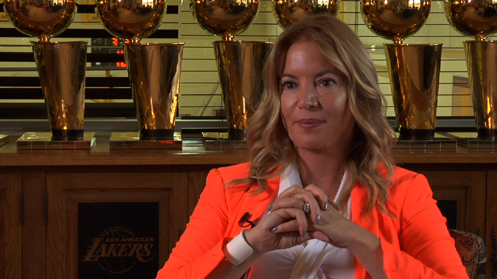 Jeanie Buss  - Fiancée of Phil Jackson, NY Knicks/LA Lakers