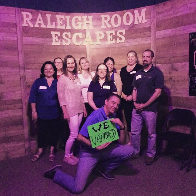 What a thrilling Thursday! Any interested in testing their skills should BOOK NOW! www.raleighroomescapes.com/book-now/ . . . . #raleigh #nc #escape #roomescape #escaperoom #fun #weekend #birthday #friends #family #goodtimes #durham #chapelhill #Knightdale #Apex #Cary #teambuilding #trappedinaroomwithazombie #containthetrampingground #devilstrampingground #quarantine #zombie #lore #legend  @ Raleigh Room Escapes LLC