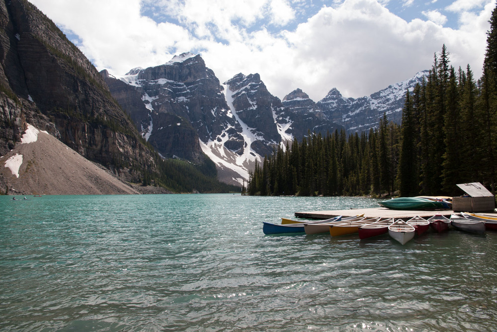 canoes that we will later rent out
