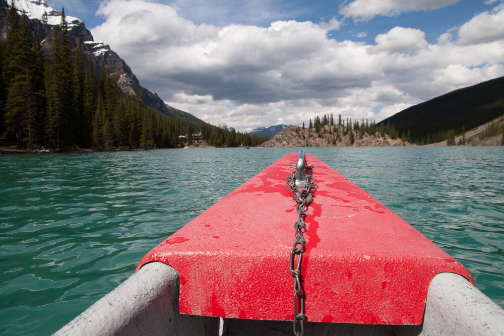 our red canoe