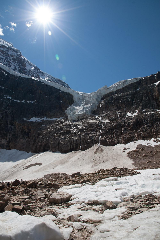 1.5 mile glacier!