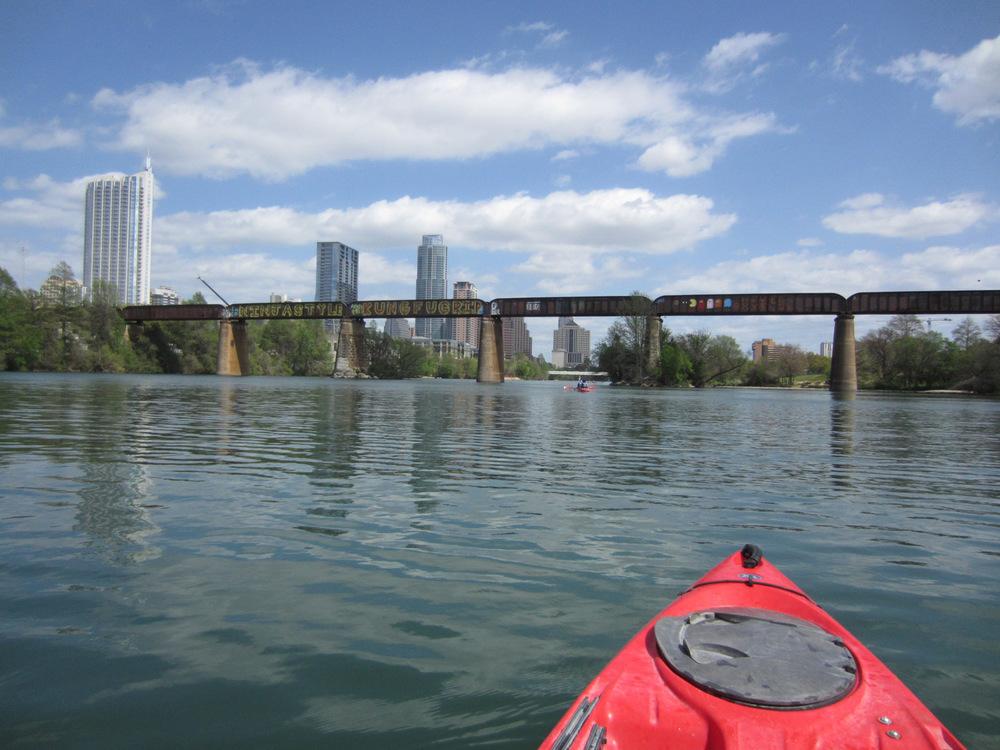 customary kayaking photo :)