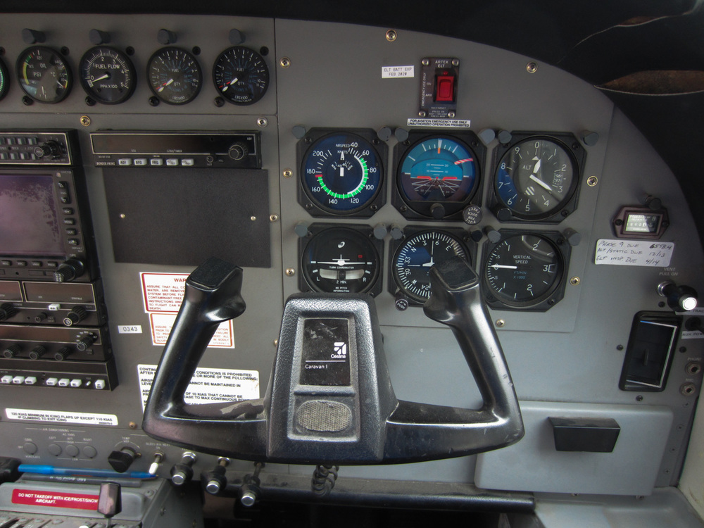 up close and personal from the copilot's seat