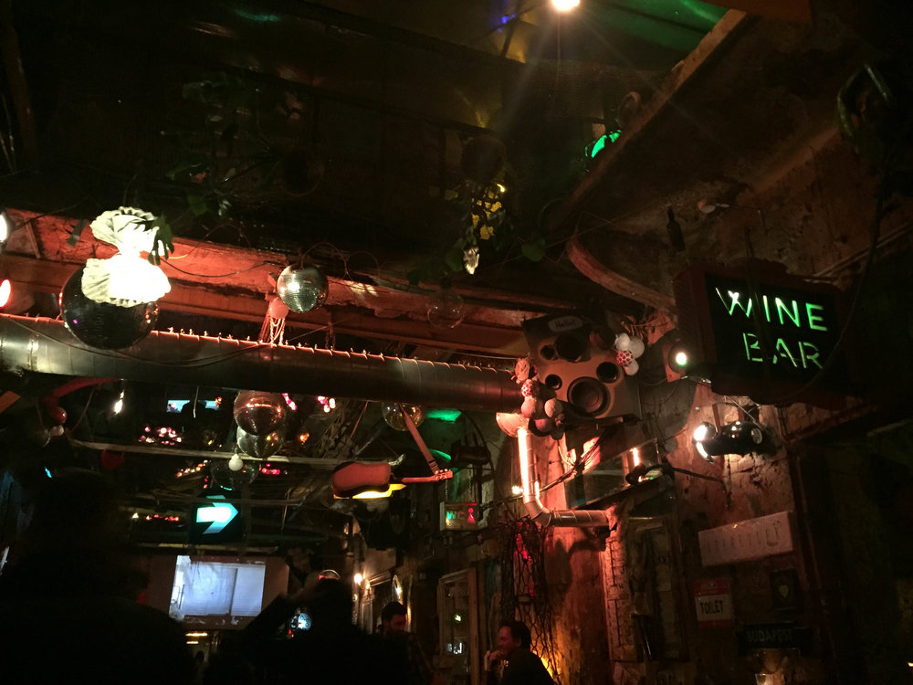 szimpla kert... best ruin bar.