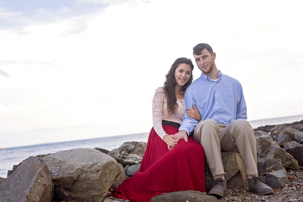 Great Island Common | Amanda and Scott | Engagement