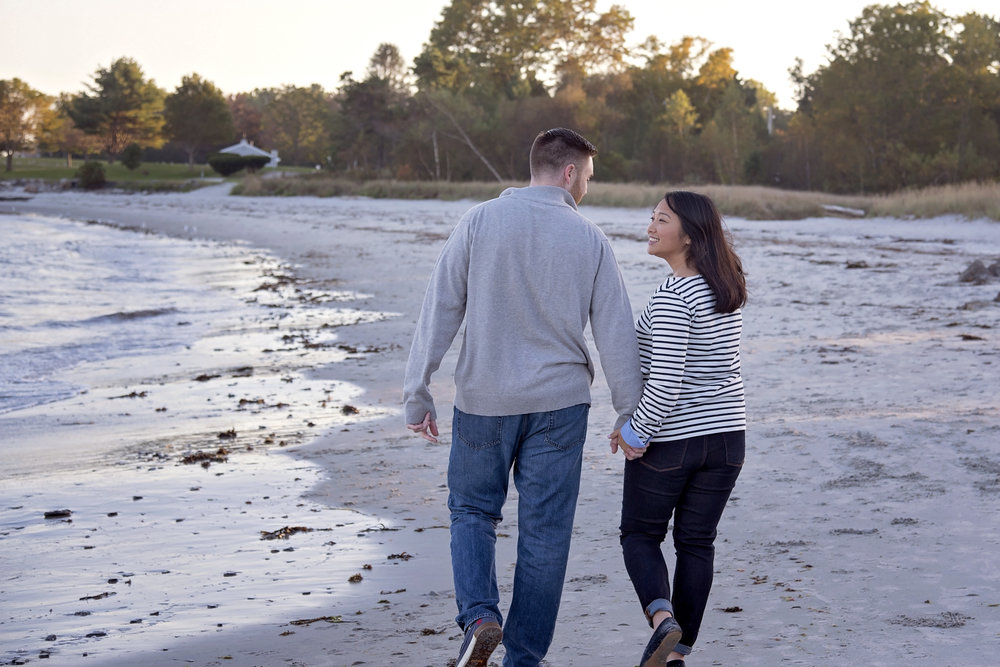 Great Island Common | Hallee and Quinn | Engagement