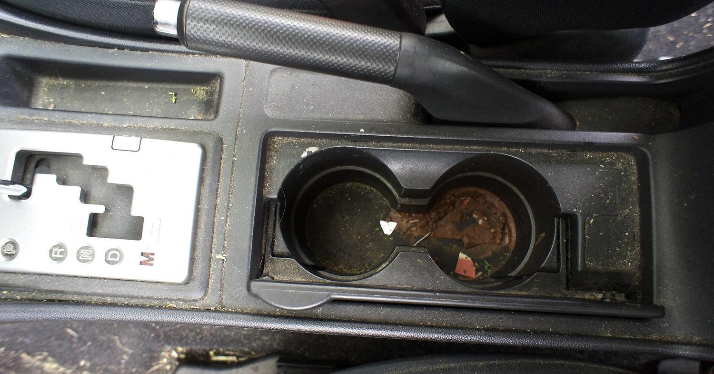 Autodetailingmazdacenterconsolebeforejpgformatw - Mazda detailing