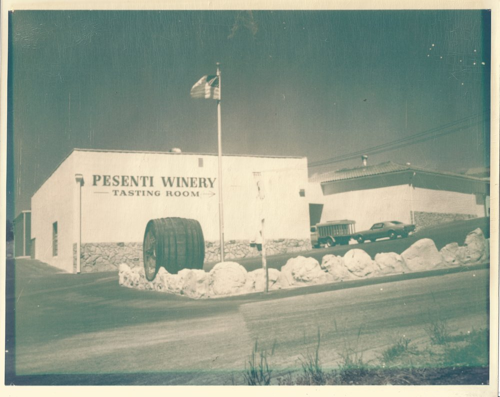 Bonded in 1934, the Pesenti winery was among the first established in Paso Robles.