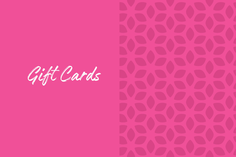 Talize gift cards are perfect for any occasion. Available in all our stores, gift cards are easy to purchase at checkout.  Check your balance    here