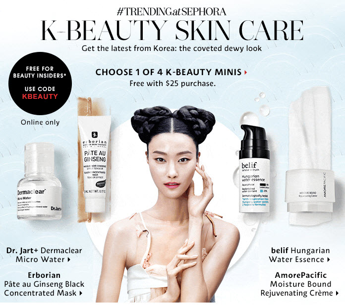 Sephora embraces the Korean Beauty trend