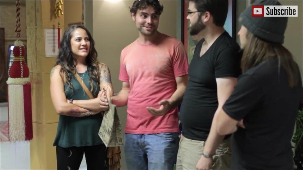 The cast: Spencer Kane, Taylor Hibbs, Elena Rose Davis, Daniel Paricio