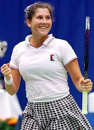 #10 Comeback!                   Monica Seles def. Ruxandra Dragomir 6-3 6-1  1st Round 8/28/95