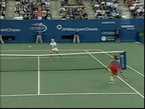 #5 Heartbroken Again! Justine Henin def Jennifer Capriati 4-6 7-5 7-6   Semifinals 9/5/03
