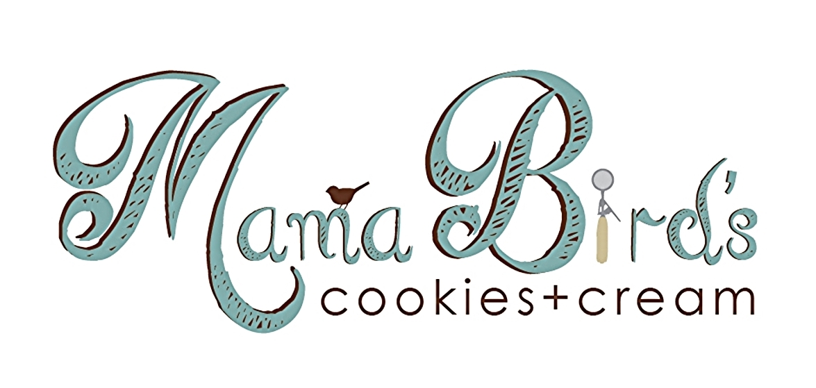 Mama Bird's cookies + cream