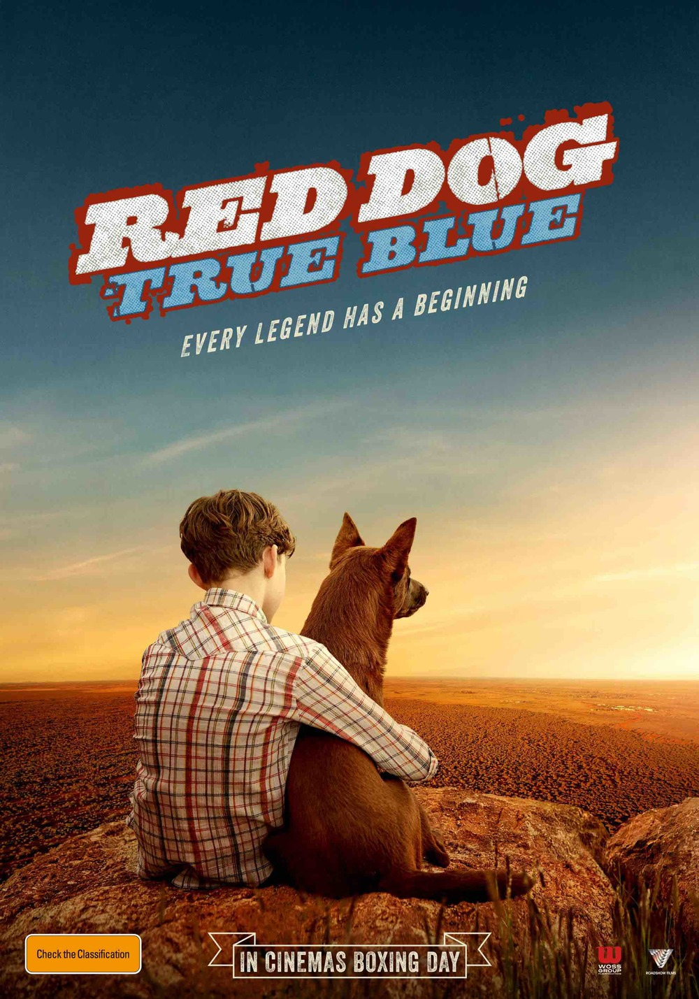 LEVI MILLER in RED DOG: TRUE BLUE