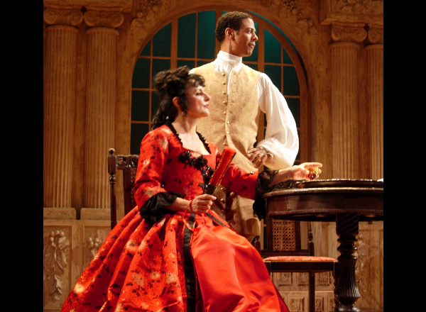 Leith Burke and Kay Kostopoulos in Restoration Comedy