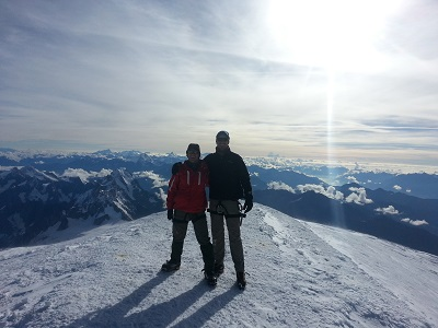 Top of Western Europe - Mont Blanc (Myrmidon - 2014)
