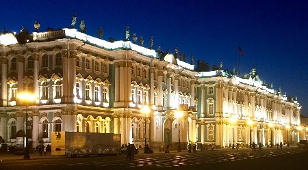 Winter Palace, St Petersburg (Myrmidon 2015)
