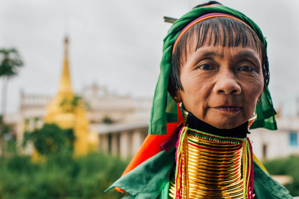 Kayan Padaung woman