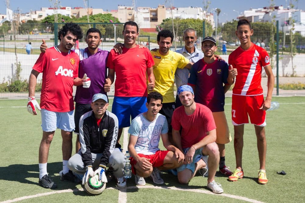My Moroccan soccer team