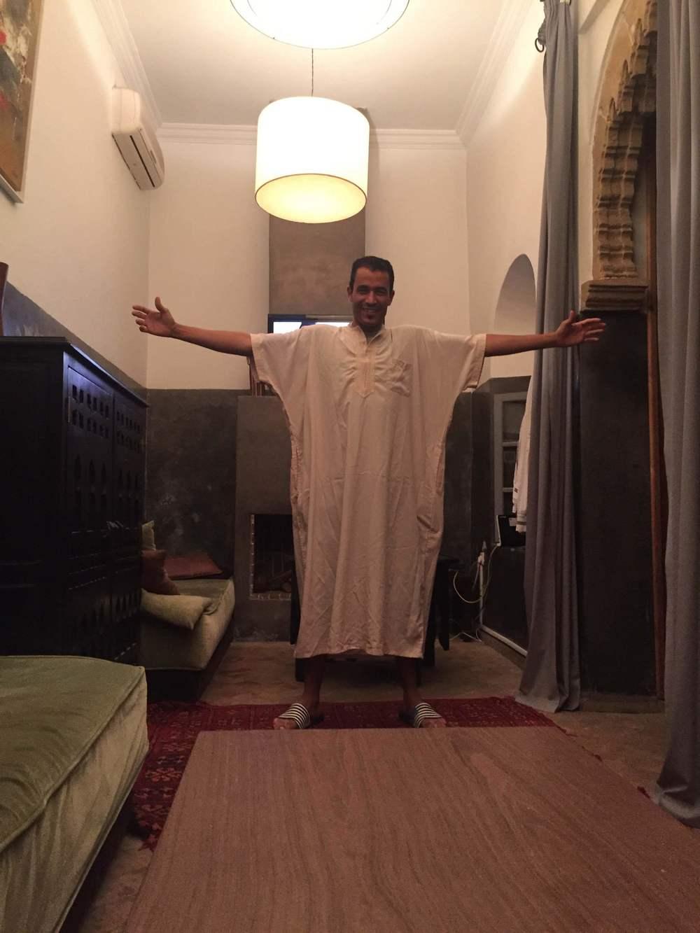 Hichem ready for Ramadan