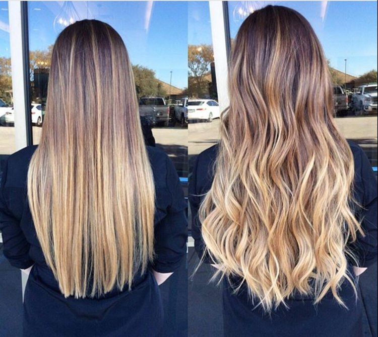 Everything Youve Wondered About Getting Tape In Extensions Beauty