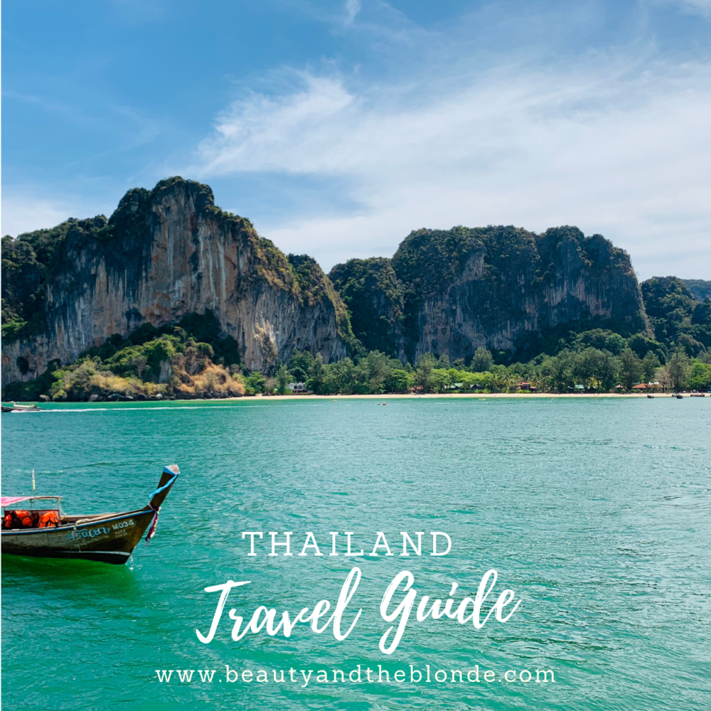Thailand Travel Guide - We started planning our trip knowing 2 things: We wanted to relax but also see the culture of Thailand. When we travel we are definitely not the type of people who want to stay in the overly crowded tourist areas, surrounded by western cultures like McDdonalds, Starbucks and people the same as us everywhere. That just never feels like another country to us! We like to stay in more laid back areas, a little off the beaten path, while still having the comforts of home when we come back to our hotel at night…CLICK HERE TO READ MORE…