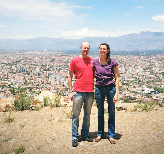 CMS Missionaries Adrian and Anita Lovell in Bolivia