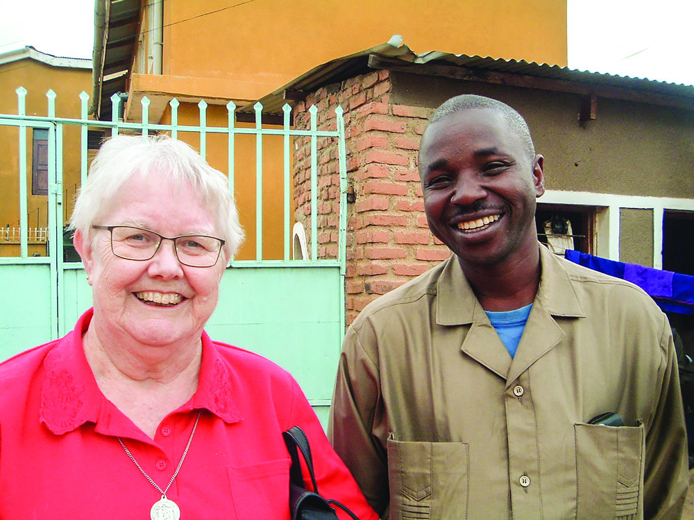 Pastor Joshua Mkoga, whom Colin and Wendy Reed (pictured) taught at Amani Theological College in Iringa, where they worked from 1999 to 2007.