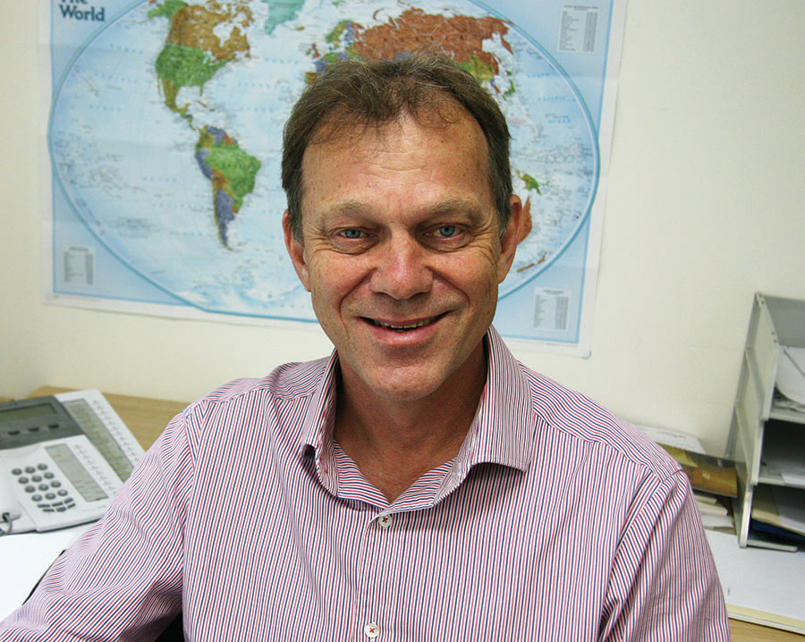 CMS-A International Director/CEO, Peter Rodgers