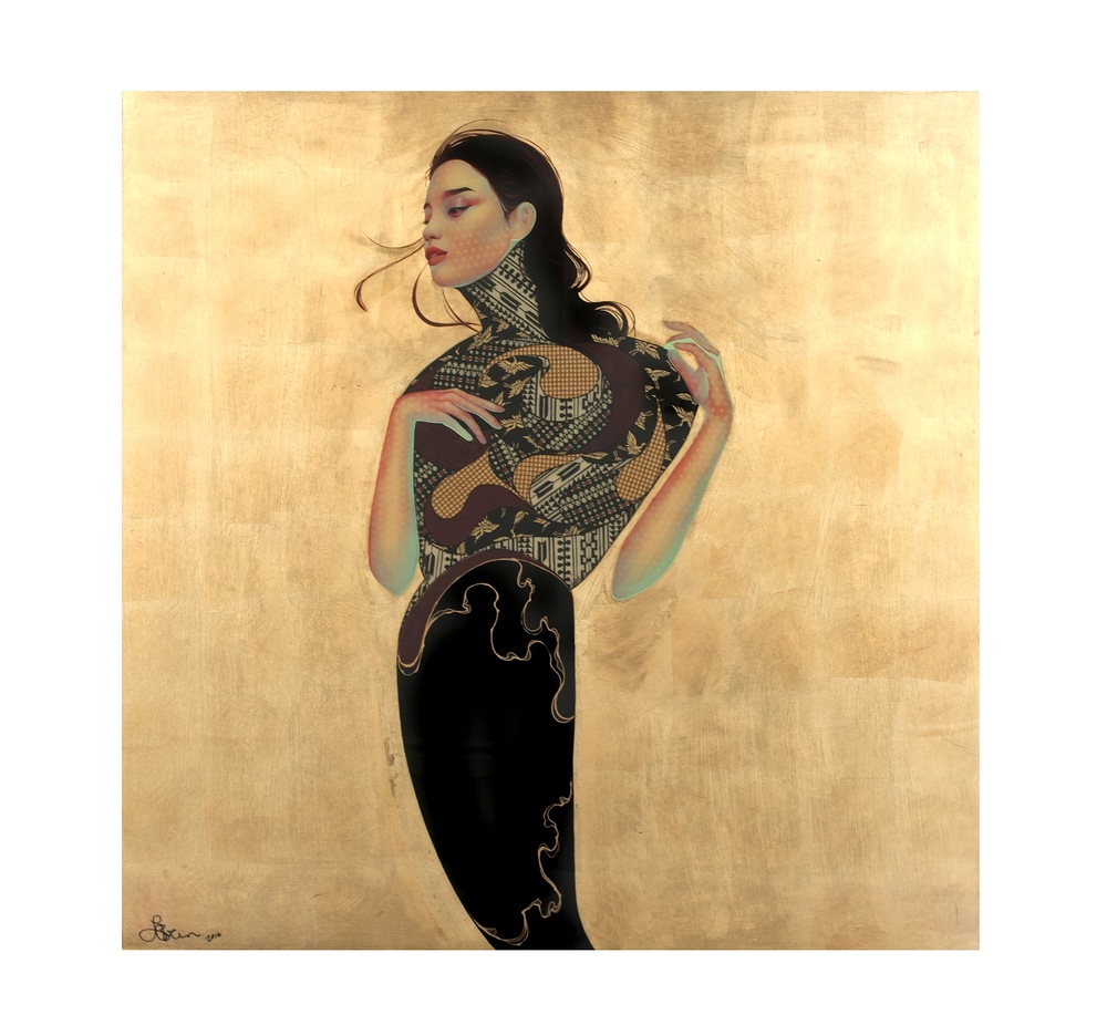 Lauren Brevner |traditional Japanese art Paintings #artpeople