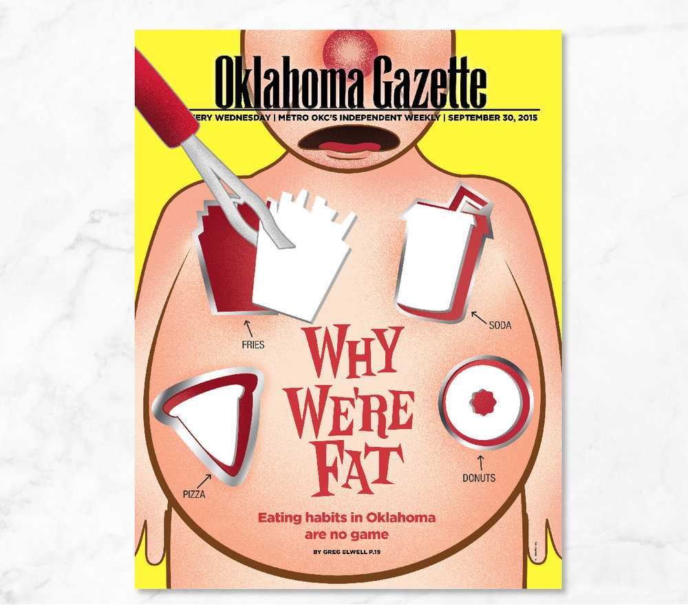 Erin DeMoss - Oklahoma Gazette Cover