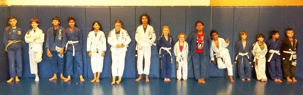 Kids Brazilian Jiu Jitsu Class