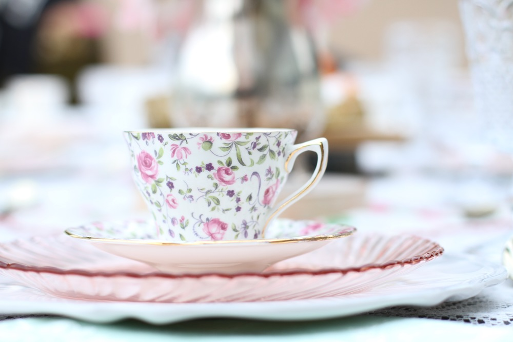 High Tea Party Collection - A stunning prepackaged tea party ready to rent from @inJOYtheParty!