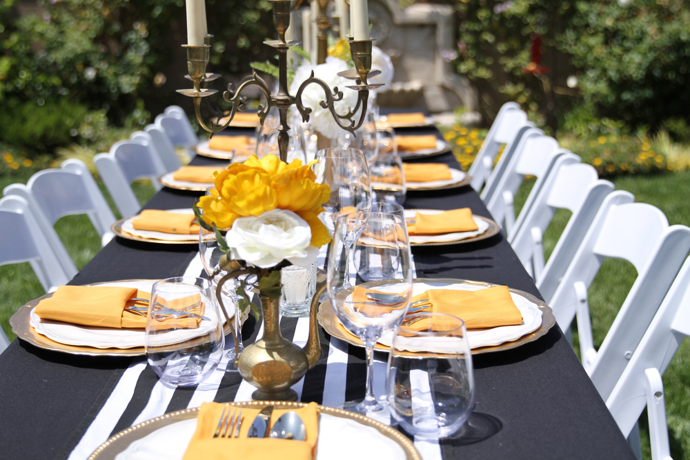 Regal Revival - An elegant prepackaged dinner party rental collection for any special occasion - Ready to rent from @inJOYtheParty!