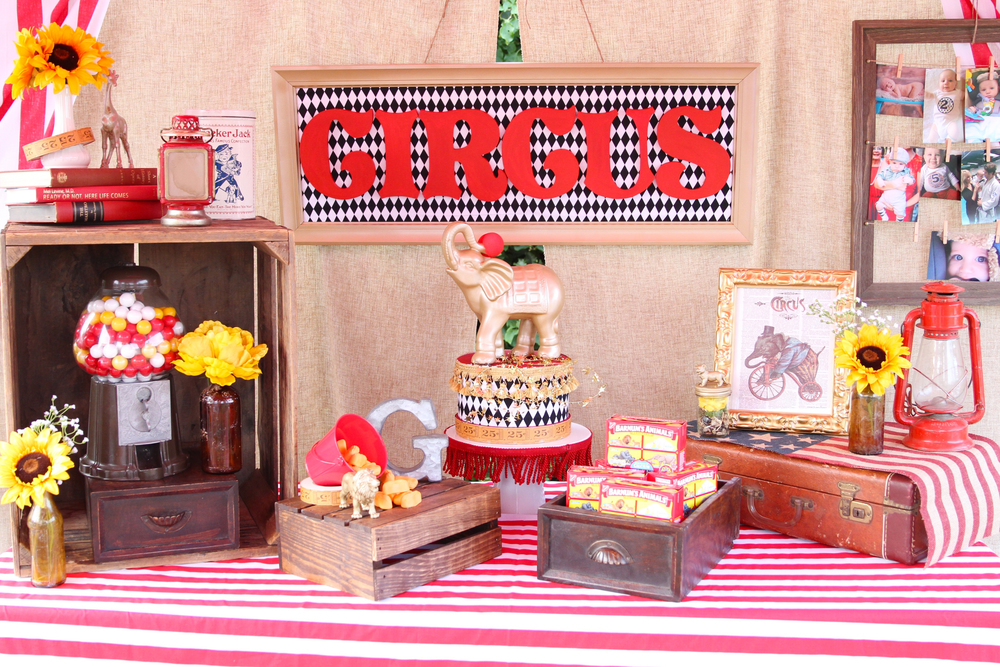 Copy of The best party on Earth! A perfectly executed circus themed party - Prepackaged and ready to rent from @inJOYtheParty!