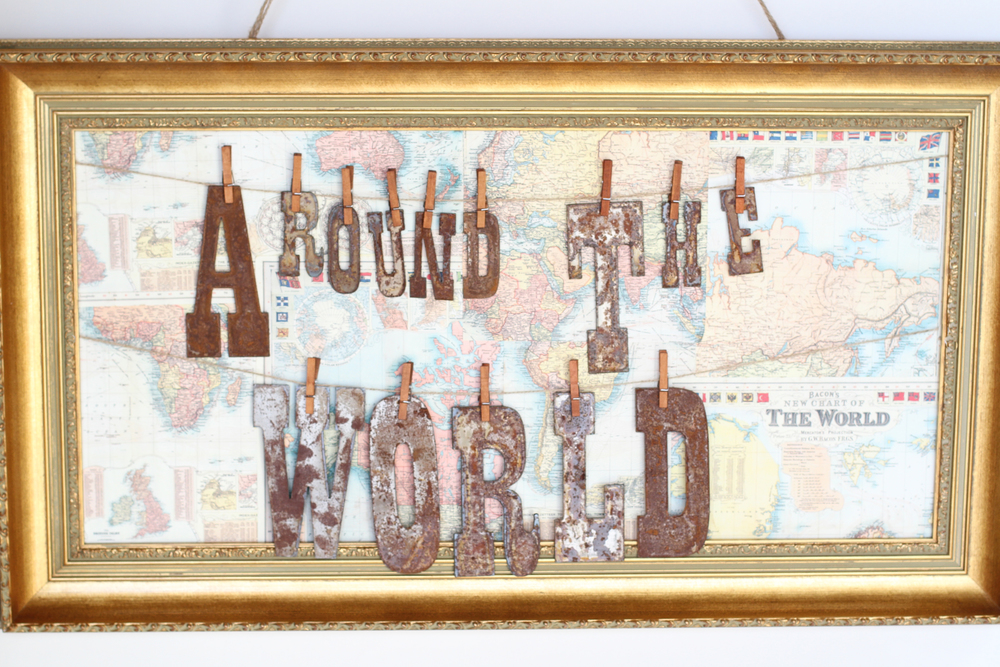 Copy of Around The World Baby Shower! - This impeccably prepackaged travel themed collection is ready to rent from @inJOYtheParty!