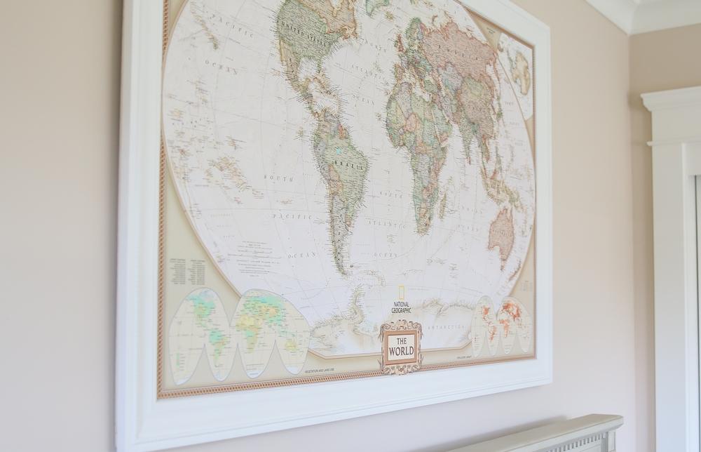 Baby Rs World Traveler Nursery inJOY The Party – World Traveler Map Set